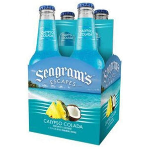 Seagram's Escapes Calypso Colada 11.2oz Bottle 4 Pack