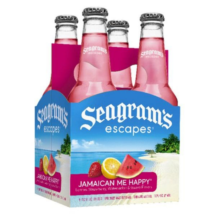 Seagram's Escapes Jamaican Me Happy 11.2oz Bottle 4 Pack