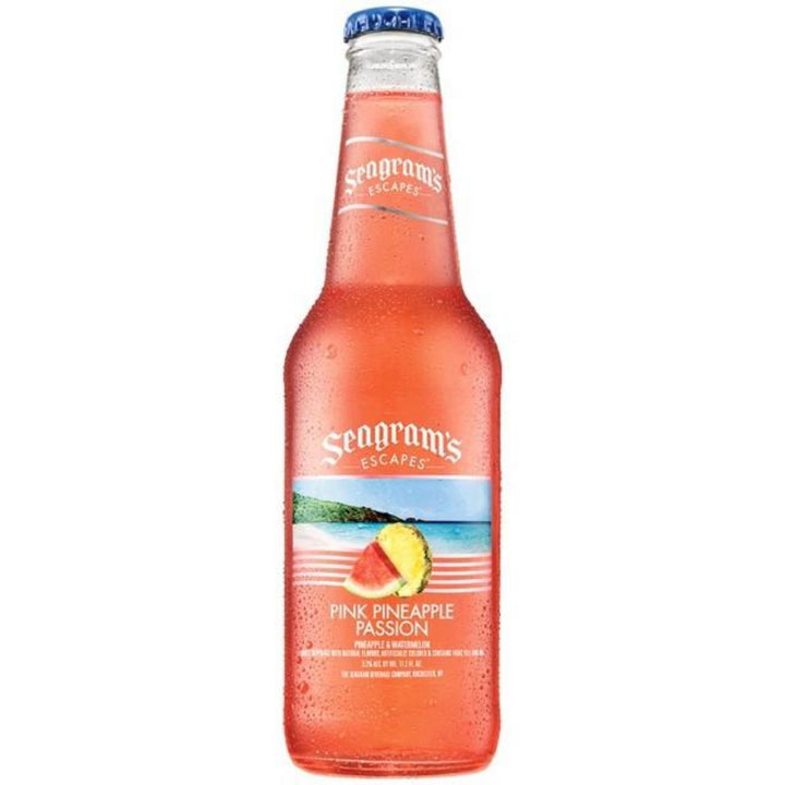 Seagram's Escapes Pink Pineapple Passion 11.2oz Bottle