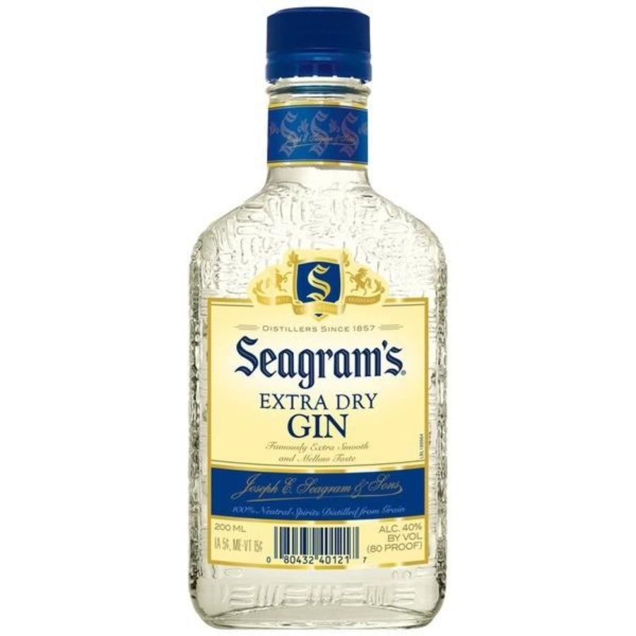 Seagram's Extra Dry Gin 200ml