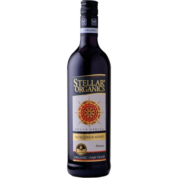 Stellar Organics No Sulfur Added Shiraz 750ml