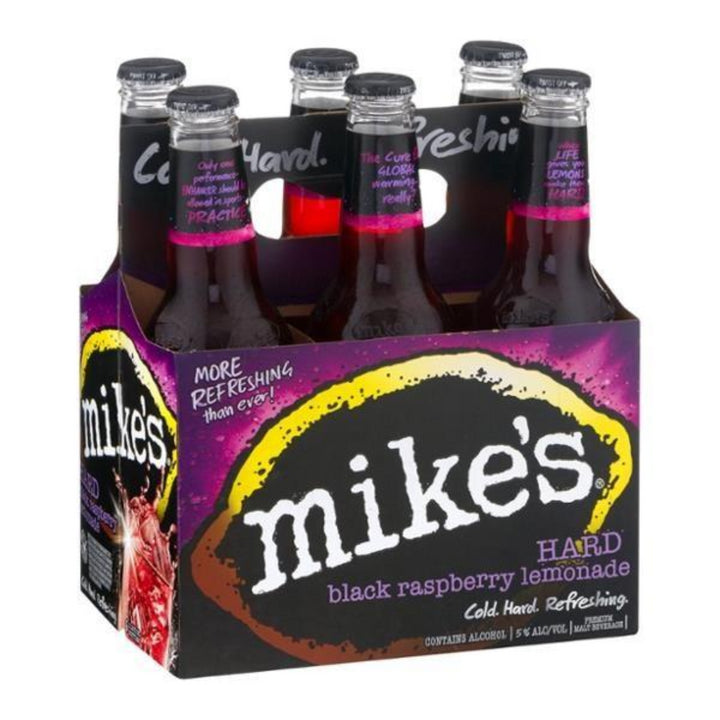 Mike's Hard Black Cherry Lemonade 12oz Bottle 6 Pack