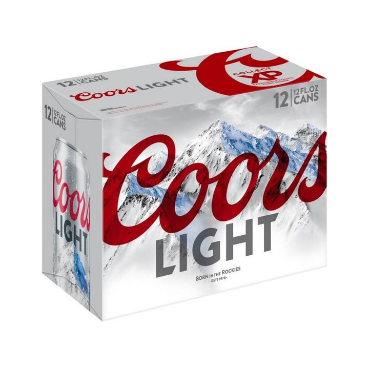 Coors Light 12oz Can 12 Pack
