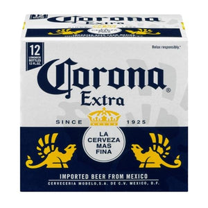Corona Extra 12oz Bottle 12 Pack