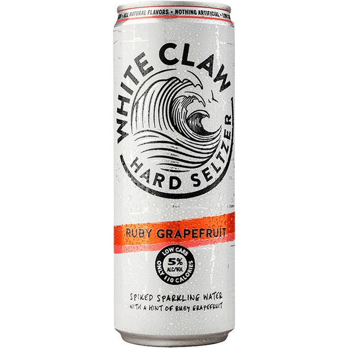White Claw Hard Seltzer Ruby Grapefruit 12oz Can