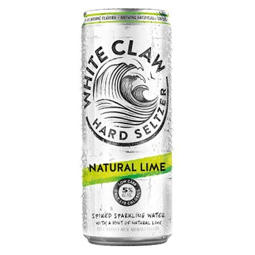 White Claw Natural Lime Hard Seltzer 12oz Can