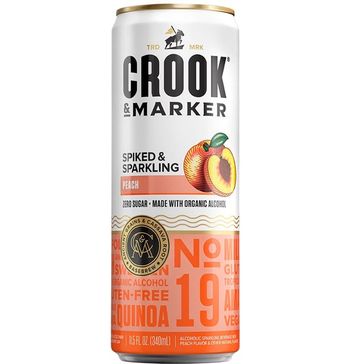 Crook & Marker Peach 11.5oz Can