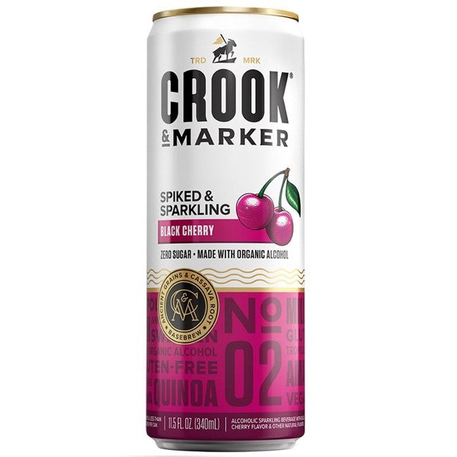 Crook & Marker Black Cherry 11.5 oz Can