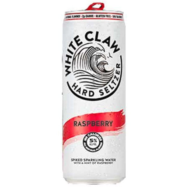 White Claw Raspberry Hard Seltzer 12oz Can