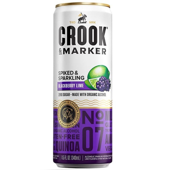 Crook & Marker Blackberry Lime 11.5oz Can