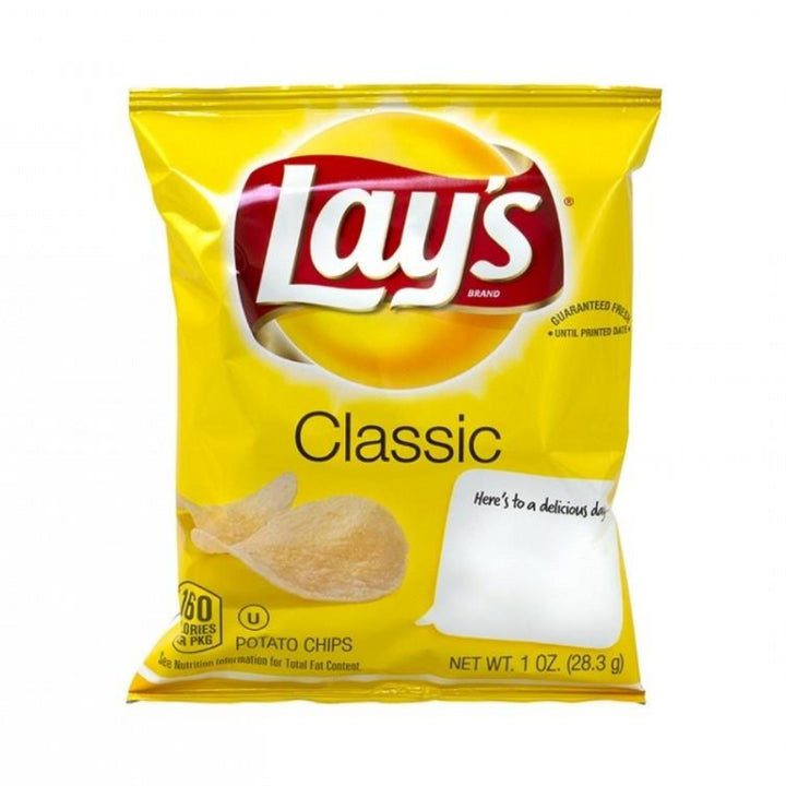 Lays Classic Chips 1oz