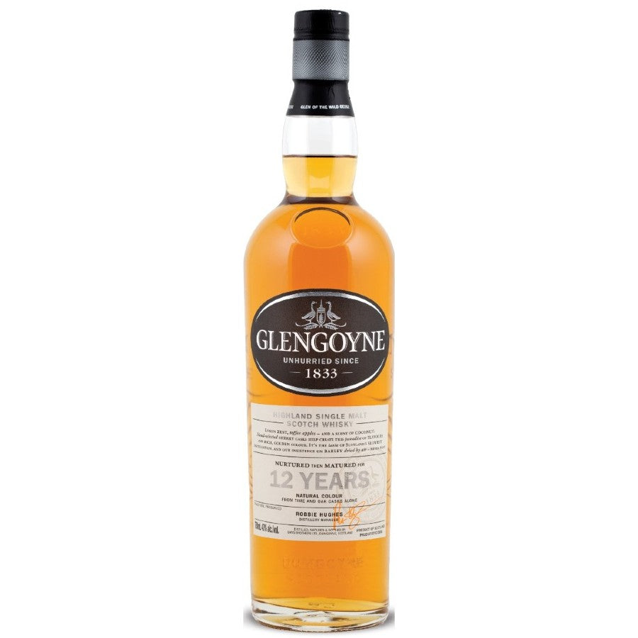 Glengoyne 12 Year Scotch Whisky 750ml
