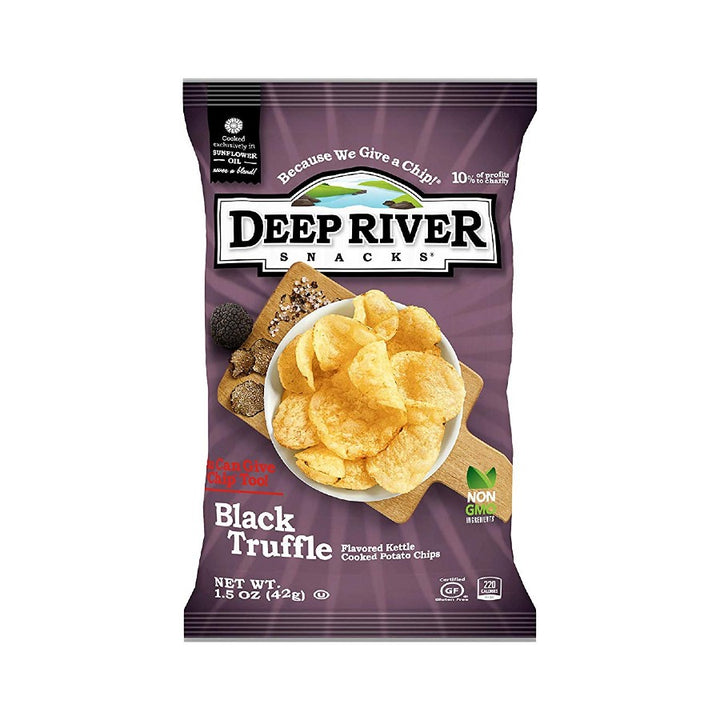 Deep River Black Truffle Chips