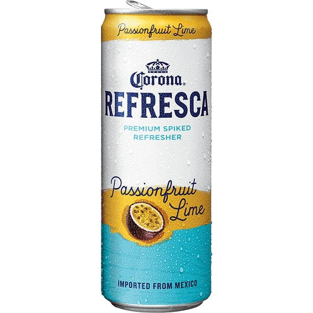 Corona Refresca Passion Fruit Lime 12oz Can
