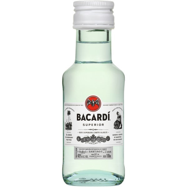 Bacardi Superior Rum 100ml