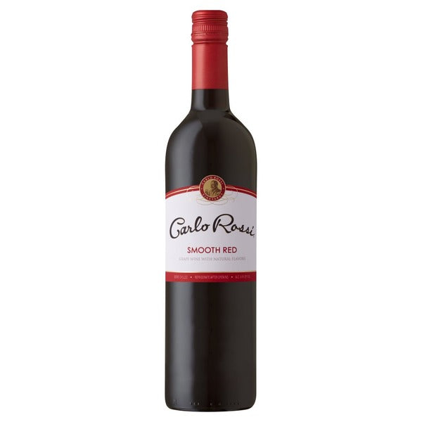 Carlo Rossi Smooth Red 750ml