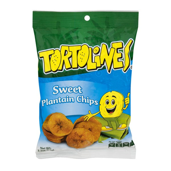 Tortolines Sweet Plantain Chips 2.5oz