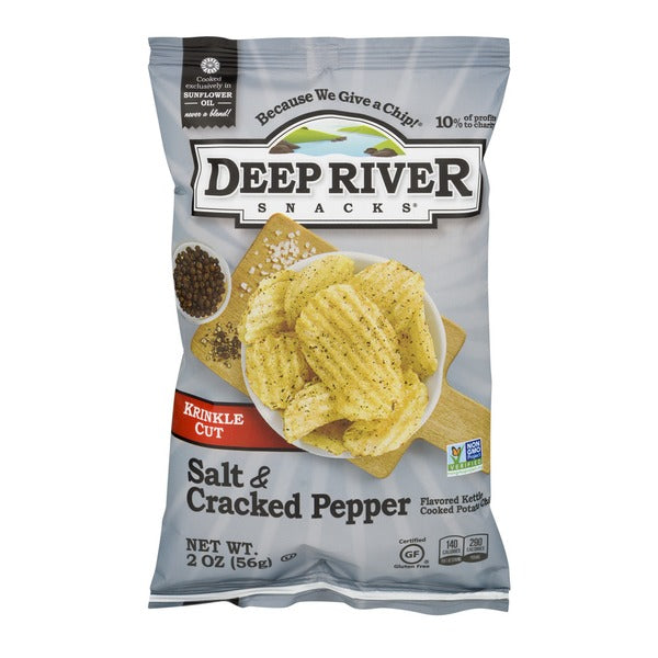 Deep River Salt & Cracked Pepper Chips