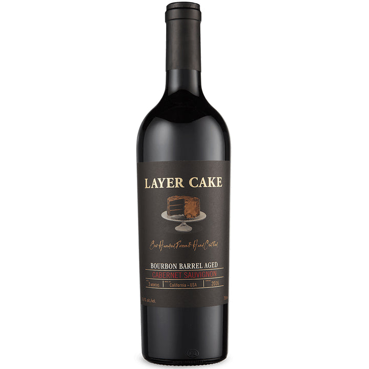 Layer Cake Bourbon Barrel Aged Cabernet Sauvignon 750ml