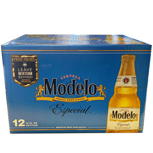 Modelo Especial 12oz Bottle 12 Pack