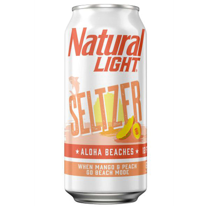 Natural Light Seltzer Aloha Beaches 25 oz Can