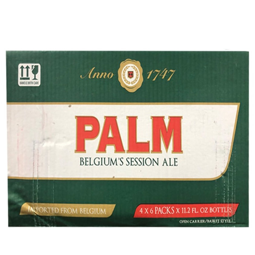 Palm Beer 11.2oz Bottle 24 Pack