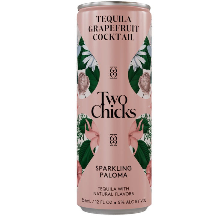 Two Chicks Sparkling Paloma Cocktail 12oz Can