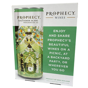 Prophecy Sauvignon Blanc 250ml Can 2 Pack