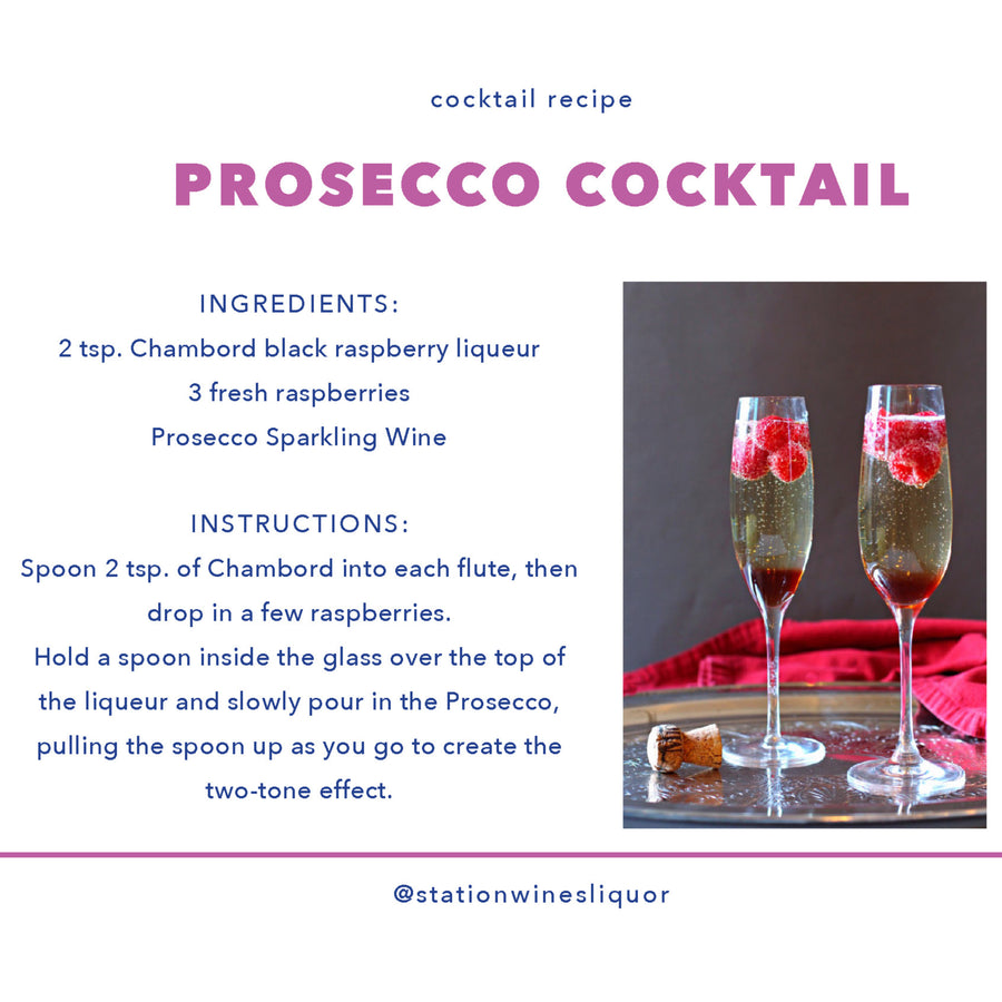 Prosecco Cocktail Basket