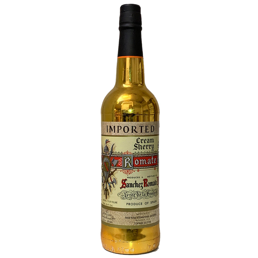 Sanchez Romate Cream Sherry Spain 750ml