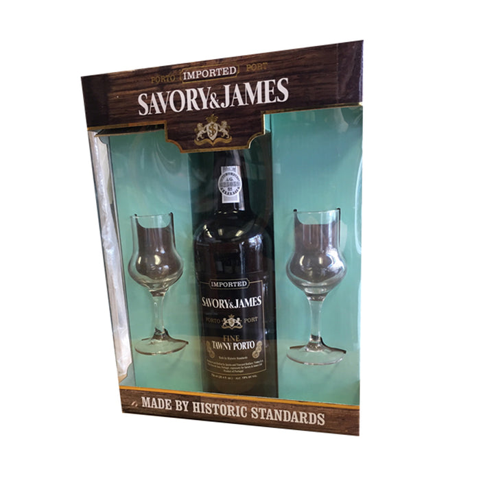 Savory & James Tawny Port Gift Set