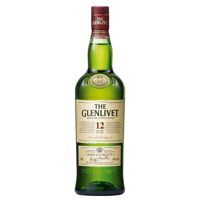 The Glenlivet 12 Year 750ml Giftset