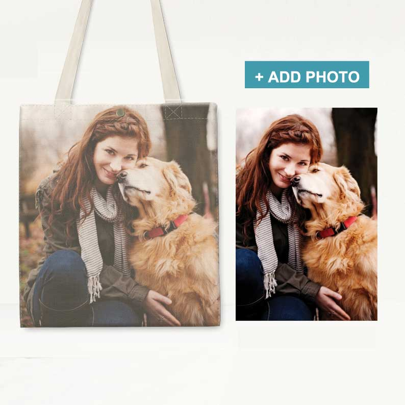 Custom Canvas Bag with Photo - icreatifes