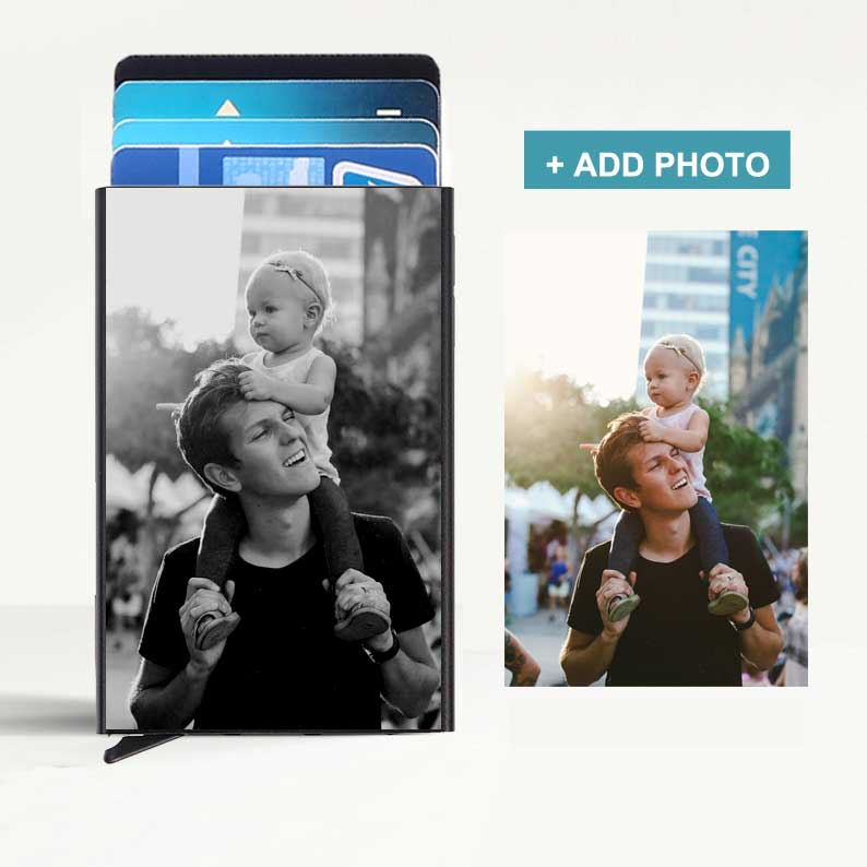 Custom Photo Metal Card Protection Case - icreatifes