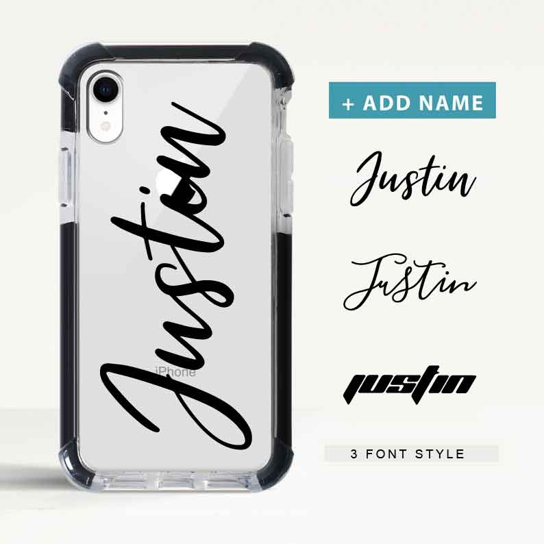 Custom Super Protection iPhone Case with Name