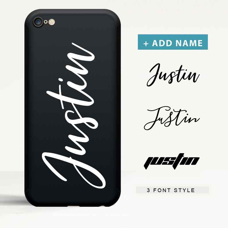 Custom 360 Degree Protection iPhone Case with Name - icreatifes