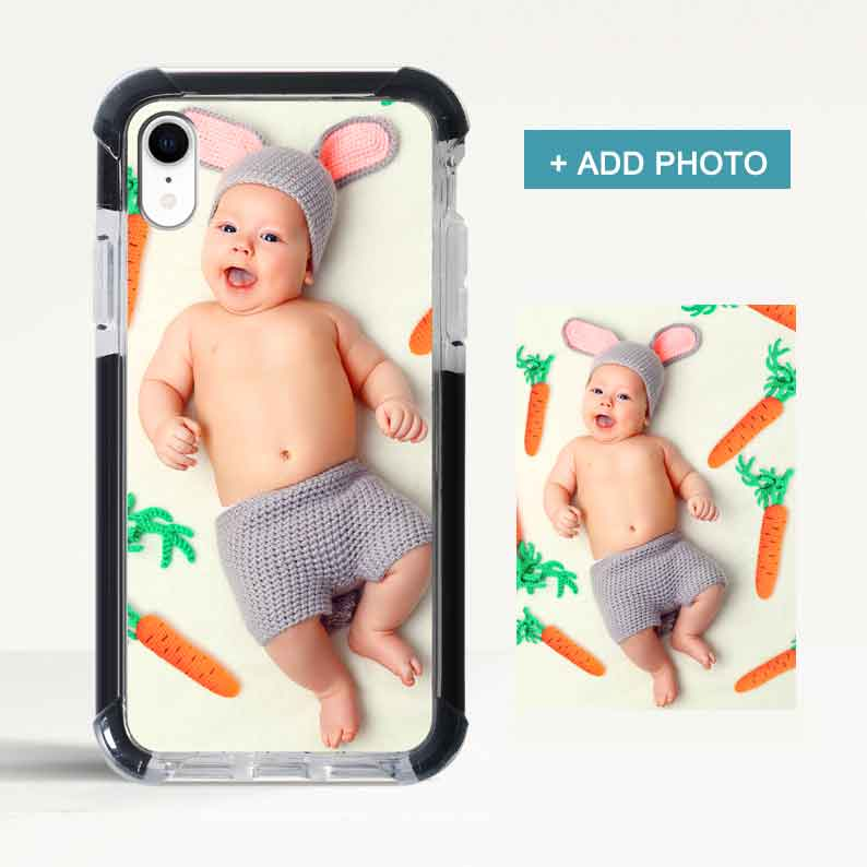 Custom Super Protection iPhone Case with Photo - icreatifes