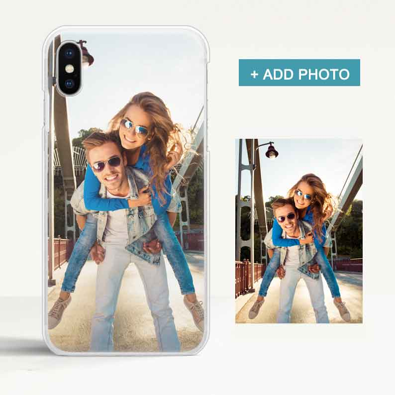 Custom Matte iPhone Case with Photo - icreatifes