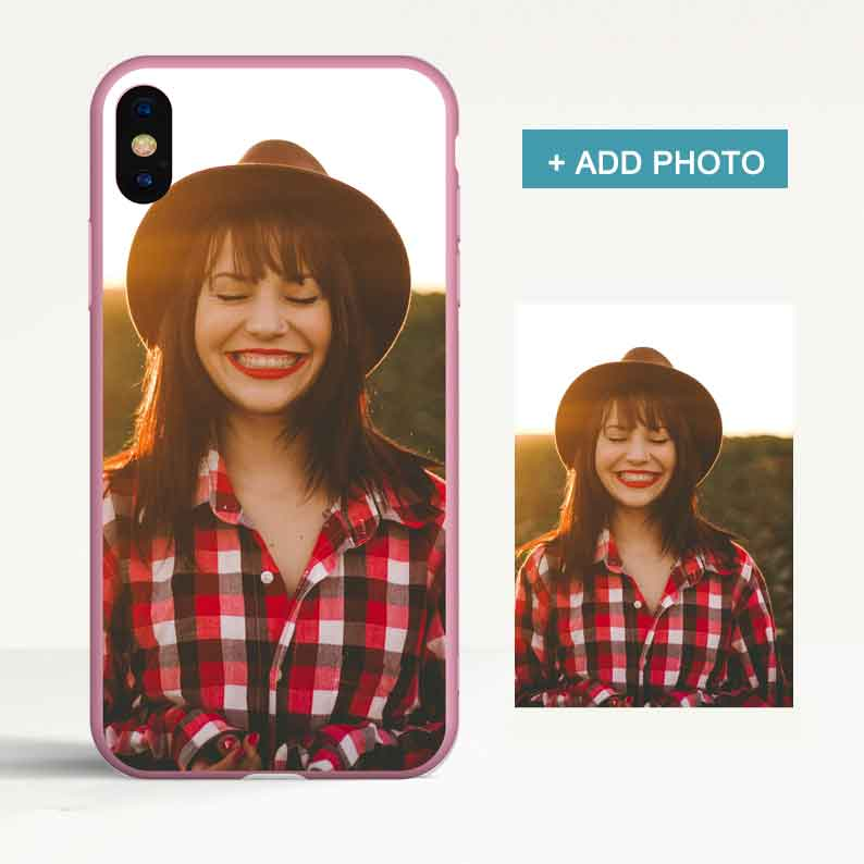 Custom Color Tpu iPhone Case with Photo - icreatifes
