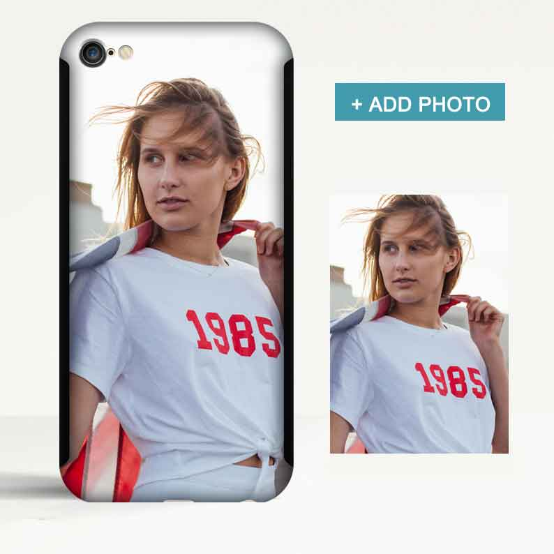 Custom 360 Degree Protection iPhone Case with Photo - icreatifes