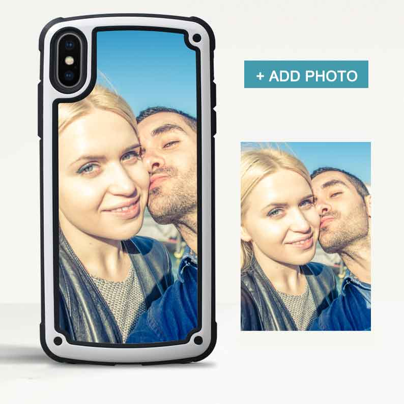 Custom Armor iPhone Case with Photo - icreatifes