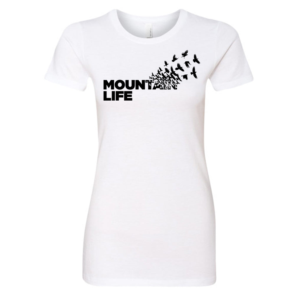 In-Flight Women's Series Tee - s / T Shirt White
