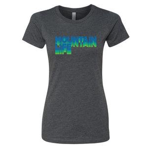 20/20 Acid Test Women's Series Tee - Blue/Green - s / T