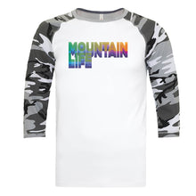 Load image into Gallery viewer, 20/20 Acid Test Tee - Rainbow - s / Baseball White w/ Camo