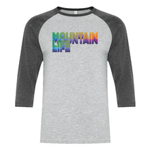 Load image into Gallery viewer, 20/20 Acid Test Tee - Rainbow - s / Baseball Grey w/ Dark