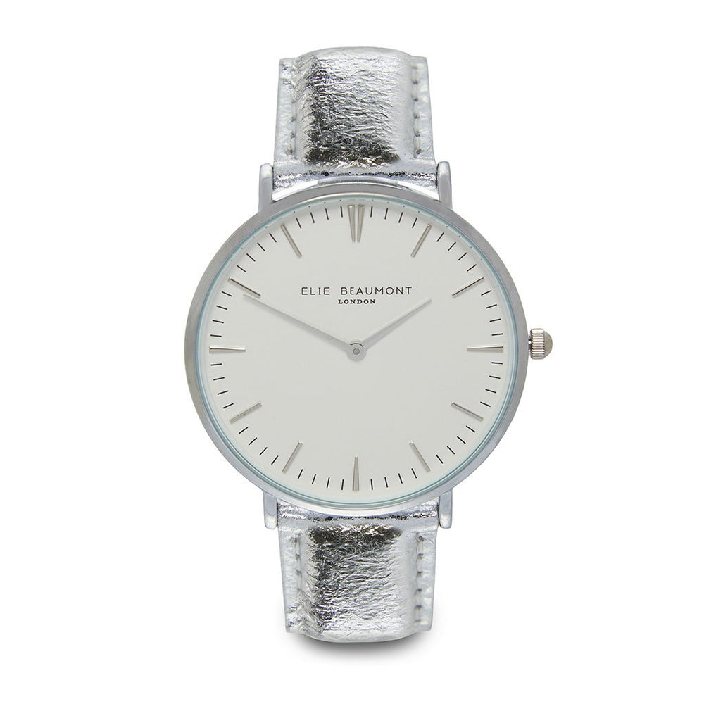 ELLIE BEAUMONT OXFORD LARGE WHITE DIAL/SILVER Watch