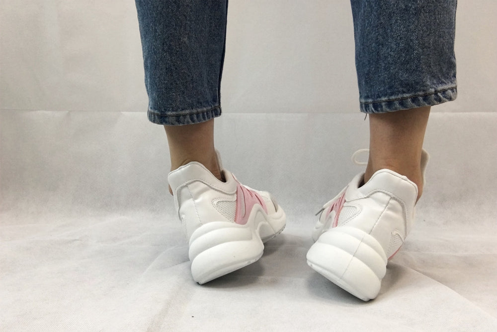 VULCANISED STREET FASHION Pink Sneakers