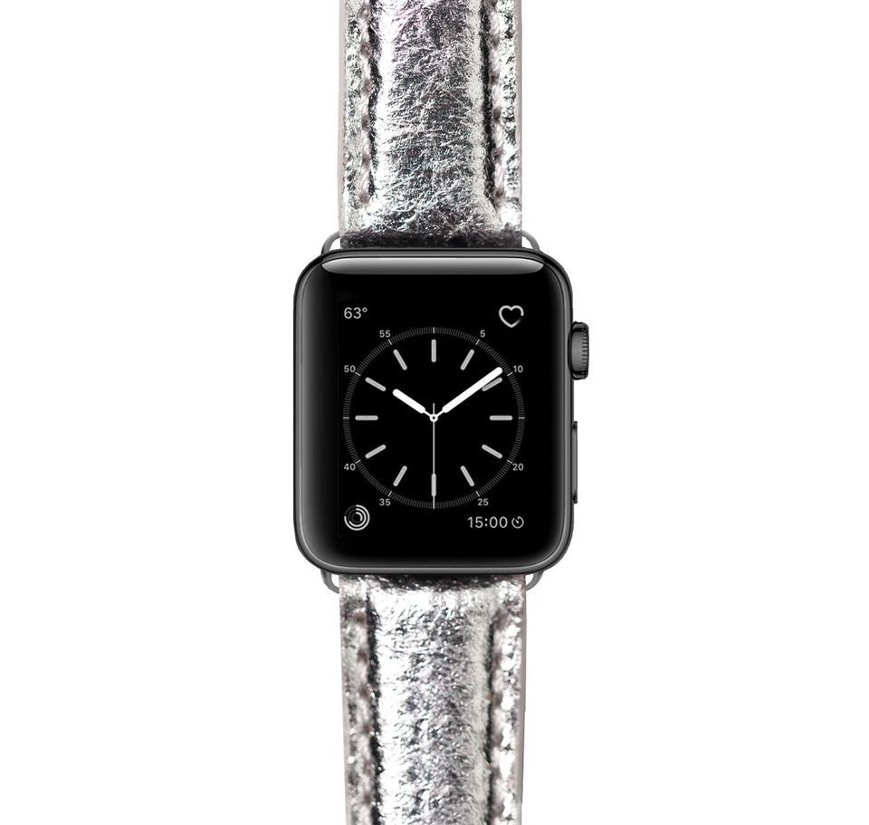 MEZANDO CHEEKY SILVER APPLE WATCH Bracelet