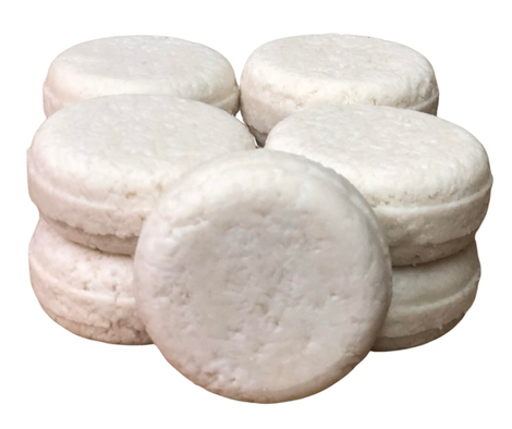 Sulfate Free Shampoo Bars in Compostable Cellulose Packaging