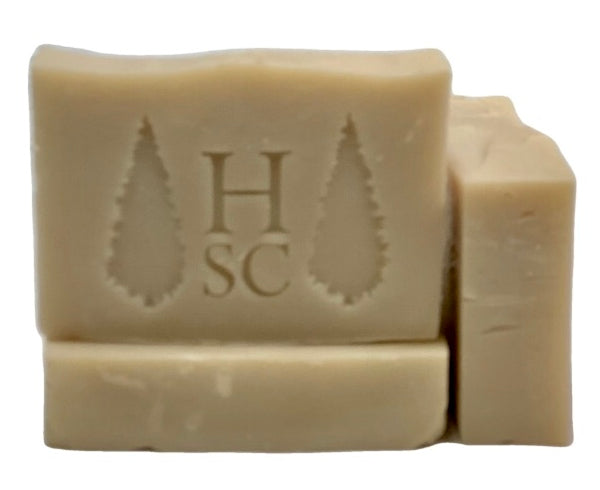Peppermint, Lemongrass, Tea Tree 100% Natural Vegan Soap